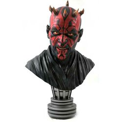 Busta Legends in 3D: Star Wars The Mandalorian Darth Maul 1/2 Scale Bust na progamingshop.sk