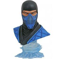 Busta Legends in 3D Video Game Mortal Kombat Sub Zero 1/2 Scale Bust na progamingshop.sk