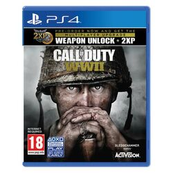 Call of Duty: WW2 [PS4] - BAZÁR (použitý tovar) na progamingshop.sk