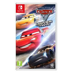 Cars 3: Driven to Win [NSW] - BAZÁR (použitý tovar) na progamingshop.sk