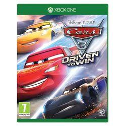 Cars 3: Driven to Win [XBOX ONE] - BAZÁR (použitý tovar) na progamingshop.sk