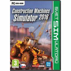 Construction Machines Simulator 2016 CZ na progamingshop.sk