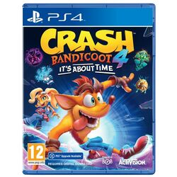 Crash Bandicoot 4: It's About Time [PS4] - BAZÁR (použitý tovar) na pgs.sk