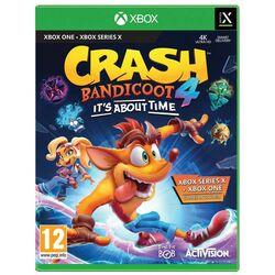 Crash Bandicoot 4: It's About Time [XBOX ONE] - BAZÁR (použitý tovar) na progamingshop.sk