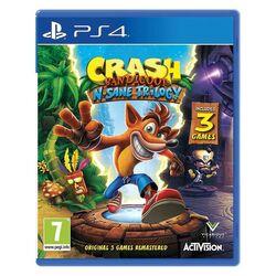 Crash Bandicoot N.Sane Trilogy na pgs.sk