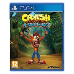 Crash Bandicoot N.Sane Trilogy [PS4] - BAZÁR (použitý tovar) na progamingshop.sk