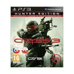 Crysis 3 CZ (Hunter Edition) [PS3] - BAZÁR (použitý tovar) na progamingshop.sk