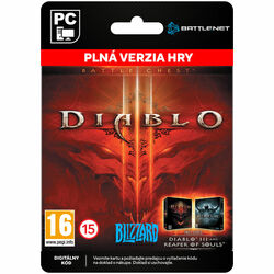 Diablo 3 (Battle Chest) [Battle.net] na progamingshop.sk