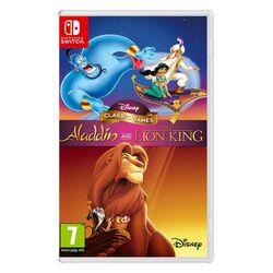 Disney Classic Games: Aladdin and The Lion King [NSW] - BAZÁR (použitý tovar) na progamingshop.sk