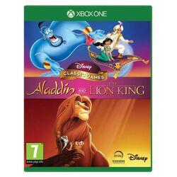 Disney Classic Games: Aladdin and The Lion King [XBOX ONE] - BAZÁR (použitý tovar) na progamingshop.sk