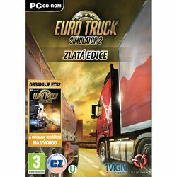 Euro Truck Simulator 2 CZ (Zlatá edícia) na progamingshop.sk