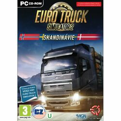 Euro Truck Simulator 2: Škandinávia CZ na progamingshop.sk