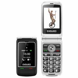 Evolveo EasyPhone FG, black + nabíjací stojan - SK distribúcia na pgs.sk