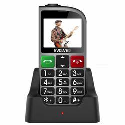 Evolveo EasyPhone FM, Grey + nabíjací stojan - SK distribúcia na pgs.sk