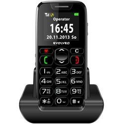 Evolveo EasyPhone, black + nabíjací stojan - SK distribúcia na pgs.sk