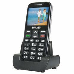 Evolveo EasyPhone XD, Black + nabíjací stojan - SK distribúcia na pgs.sk