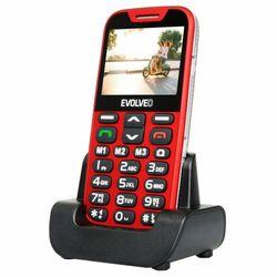 Evolveo EasyPhone XD, Red + nabíjací stojan - SK distribúcia na pgs.sk