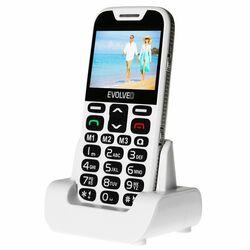 Evolveo EasyPhone XD, White + nabíjací stojan - SK distribúcia na pgs.sk