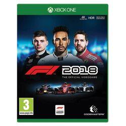 F1 2018: The Official Videogame  [XBOX ONE] - BAZÁR (použitý tovar) na progamingshop.sk