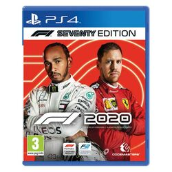 F1 2020: The Official Videogame (Seventy Edition) [PS4] - BAZÁR (použitý tovar) na progamingshop.sk