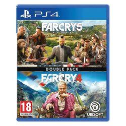 Far Cry 5 & Far Cry 4 (Double Pack) [PS4] - BAZÁR (použitý tovar) na pgs.sk