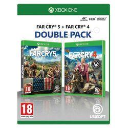Far Cry 5 & Far Cry 4 (Double Pack) [XBOX ONE] - BAZÁR (použitý tovar) na progamingshop.sk