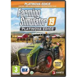 Farming Simulator 19 CZ (Platinum Edition) na progamingshop.sk
