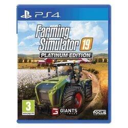 Farming Simulator 19 CZ (Platinum Edition) [PS4] - BAZÁR (použitý tovar) na progamingshop.sk