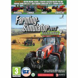 Farming Simulator 2013: Oficiálne rozšírenie 2 CZ na progamingshop.sk