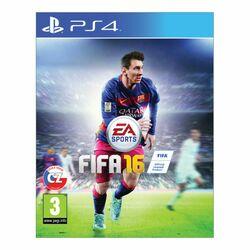 FIFA 16 CZ [PS4] - BAZÁR (použitý tovar) na progamingshop.sk