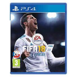 FIFA 18 CZ [PS4] - BAZÁR (použitý tovar) na progamingshop.sk