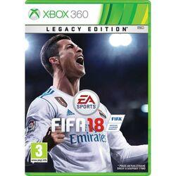 FIFA 18 (Legacy Edition) [XBOX 360] - BAZÁR (použitý tovar) na progamingshop.sk