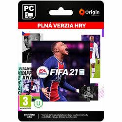 FIFA 21 CZ [Origin] na pgs.sk
