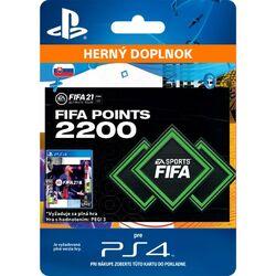 FIFA 21 (SK 2200 FIFA Points) na progamingshop.sk