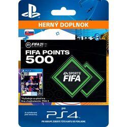 FIFA 21 (SK 500 FIFA Points) na progamingshop.sk