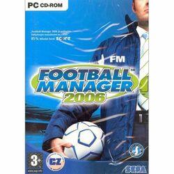 Football Manager 2006 CZ na progamingshop.sk