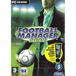 Football Manager 2007 CZ na progamingshop.sk