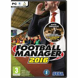 Football Manager 2016 CZ na progamingshop.sk