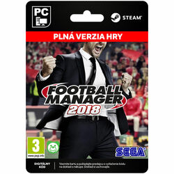 Football Manager 2018 [Steam] na progamingshop.sk