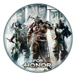 For Honor Mousepad - Factions in shape na pgs.sk