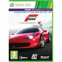 Forza Motorsport 4 CZ (Racing Game of the Year Edition) na progamingshop.sk