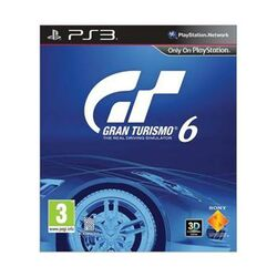 Gran Turismo 6 CZ-PS3 - BAZÁR (použitý tovar) na progamingshop.sk