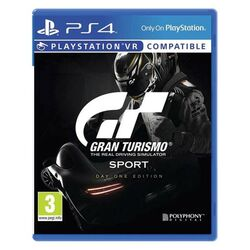 Gran Turismo Sport CZ (Day One Edition) na progamingshop.sk