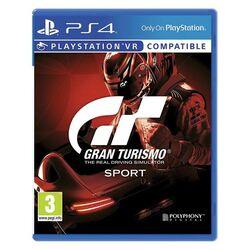 Gran Turismo Sport CZ [PS4] - BAZÁR (použitý tovar) na progamingshop.sk