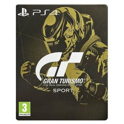 Gran Turismo Sport CZ (Steelbook Edition) na progamingshop.sk
