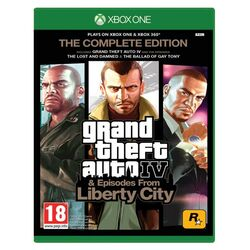 Grand Theft Auto 4: Complete Edition na progamingshop.sk
