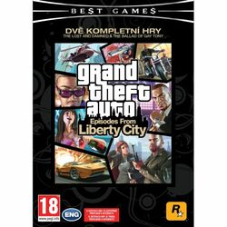 Grand Theft Auto: Episodes from Liberty City na progamingshop.sk