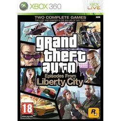 Grand Theft Auto: Episodes from Liberty City XBOX 360 - BAZÁR (použitý tovar) na progamingshop.sk