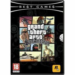 Grand Theft Auto: San Andreas CZ na progamingshop.sk