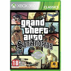 Grand Theft Auto: San Andreas [XBOX 360] - BAZÁR (použitý tovar) na progamingshop.sk